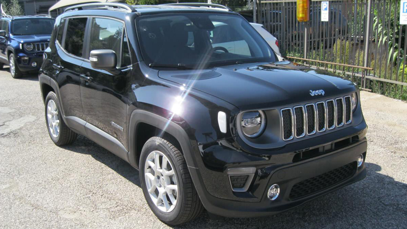 JEEP RENEGADE 1000 LIMITED 120 CV PACK LED